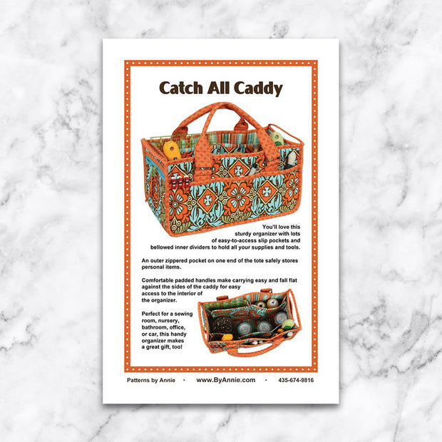 Catch All Caddy - Patterns by Annie - Paper Pattern - PBA225