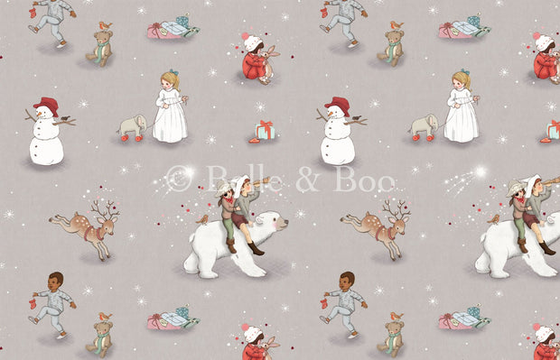 Belle and Boo UK - Polar Adventure - BBUK_Polar - Fat Quarter