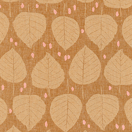 Quarry Trail - Aspen in Roasted Pecan - AFH-19813-408 - Half Yard