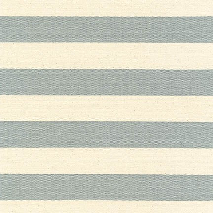 Sevenberry Canvas - Stripe in Gray - Sevenberry for Robert Kaufman - SB-88330D2-13 - Half Yard