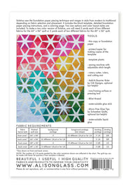 Solstice - Quilt Pattern - Alison Glass and Nydia Kehnle - Paper Pattern