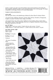 Swell - Quilt Pattern - Alison Glass - AG150