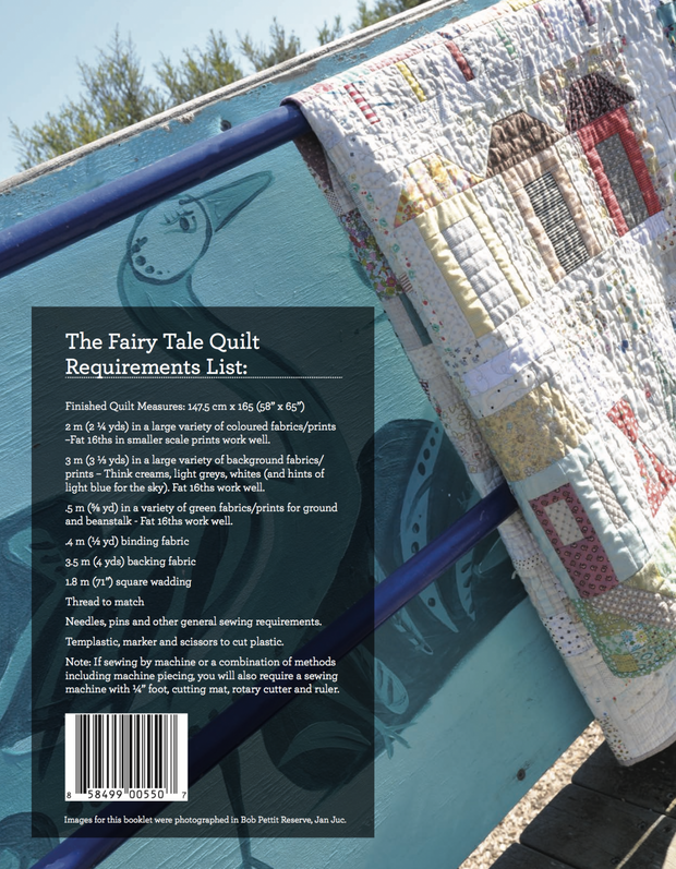 That Fairy Tale Quilt - Quilt Pattern - Jen Kingwell - Printed Pattern