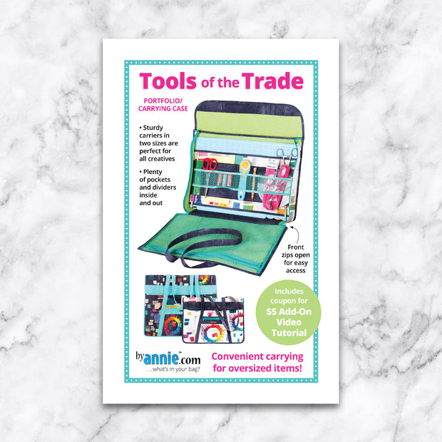 Tools of the Trade - Pattern by By Annie - Paper Pattern - PBA294