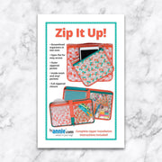 Zip it Up - Patterns by Annie - Paper Pattern - PBA252