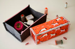 Aneela Hoey - Zip Up Tray - Paper Pattern - HOEY_ZUT