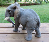 Large Elephant Walking Position Figurine