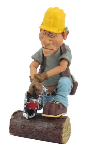 LOG CUTTER  WARREN STRATFORD FIGURINE