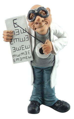 Optometrist Figurine Warren Stratford Design