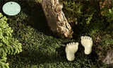 Glow in Dark Mini Paw Pads Resin Miniatures Decor New Gnome Fairy Village