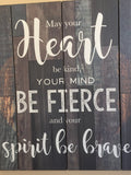Inspirational Style Wood Wall Plaque 20 x 18in. New Anniversary Gift Idea