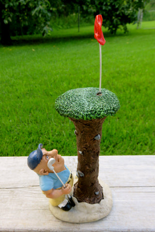 GOLF COMICAL FIGURINE WARREN STRATFORD