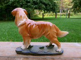 Golden Retriever Standing  Statue