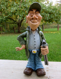 DUCK HUNTER occupation  WARREN STRATFORD MALE FIGURINE  WINKING GUN IN HAND GUY