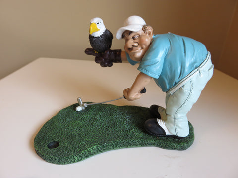 GOLFER EAGLE MALE WARREN STRATFORD
