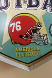 VINTAGE FOOTBALL METAL LED SIGN