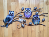 Owls Garden Wall Home Decor