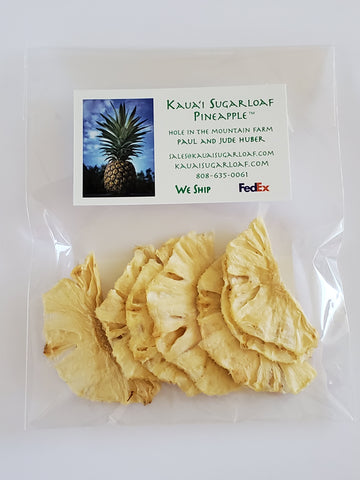 Dried Kauaʻi Sugarloaf Pineapple