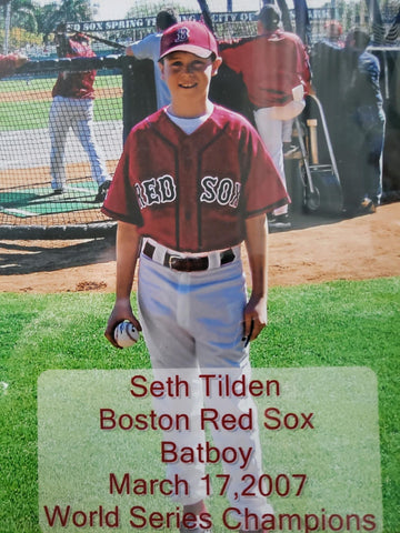 red sox training camp the best gift i ever recieved
