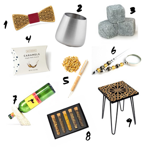 gift guide whiskey inspired gifts