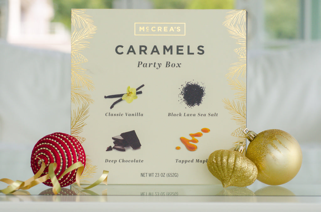 McCrea's Candies Large Holiday Caramel Party Box