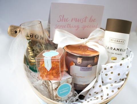 Mother's Day Gift Basket with McCrea's Candies Caramel