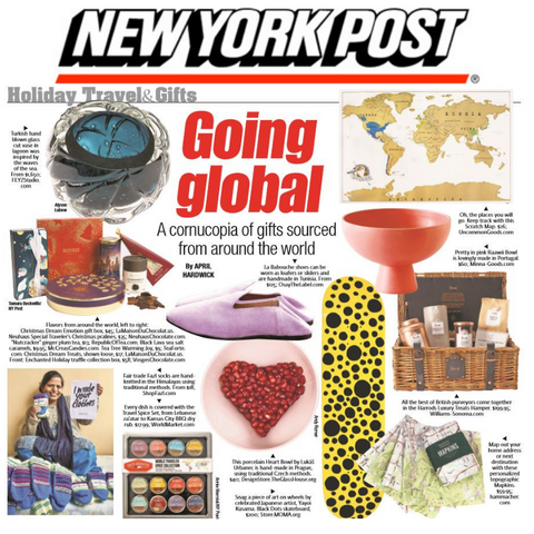 New York Post Going Global Gift Guide McCrea's Candies Caramell