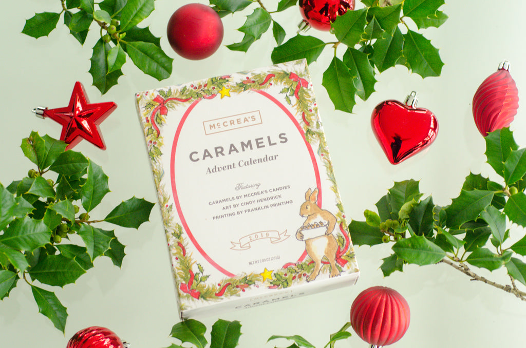 McCrea's Candies Advent Calendar Caramel Gift