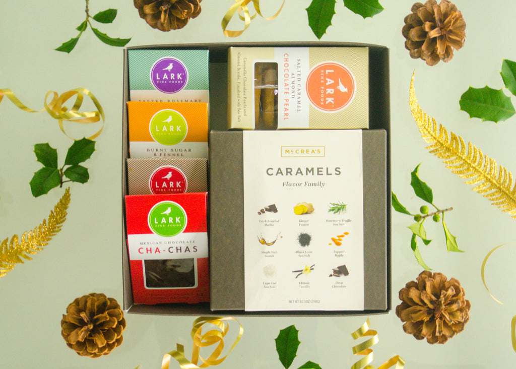 McCrea's Candies Caramel Corporate Gifts featuring Lark Fine Foodds