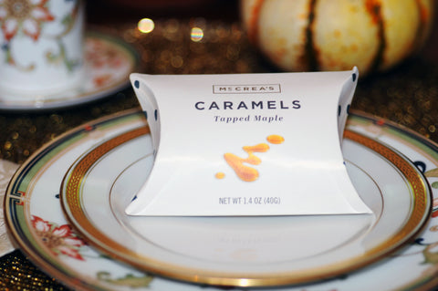 McCrea's Candies Caramel Gift Thanksgiving