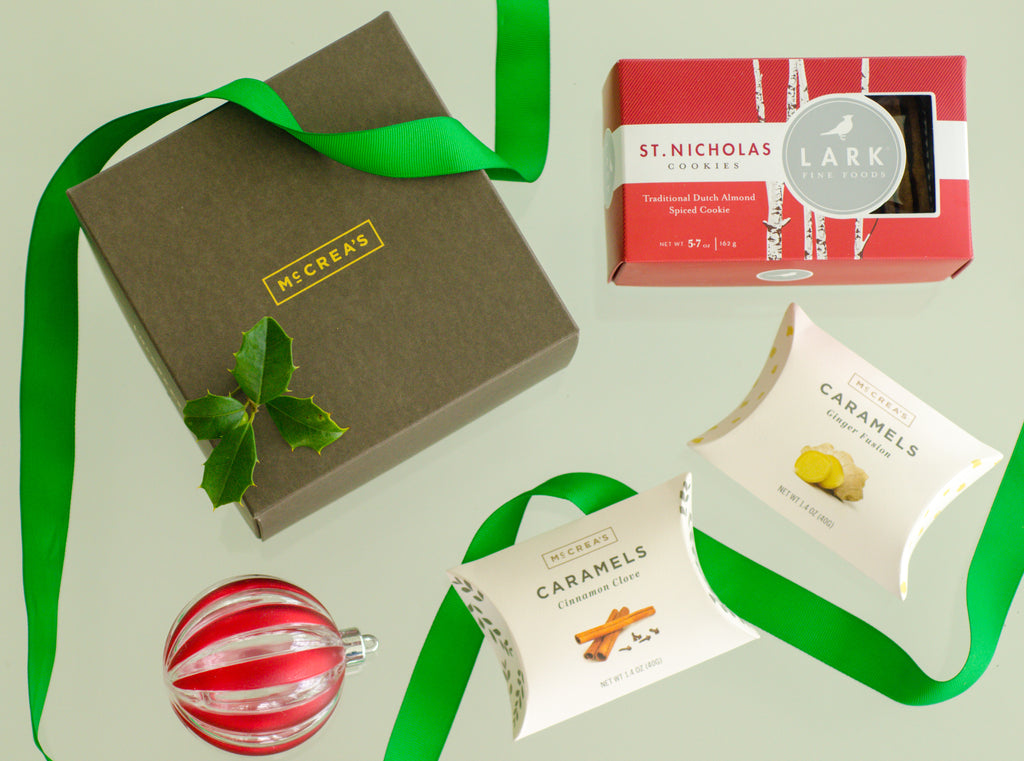 McCrea's Candies Corporate Caramel Gift Featuring Lark Fine Foods
