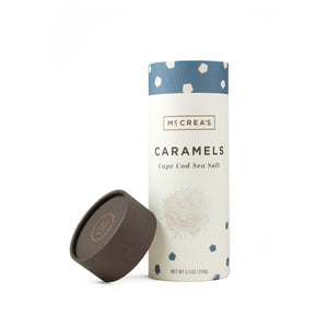 Open image in slideshow, Cape Code sea salt caramels 5-5-oz-tube