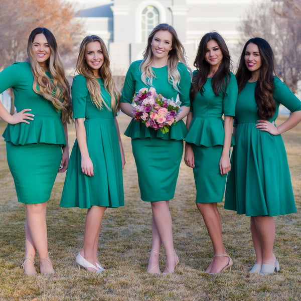 Modest Bridesmaids Dresses