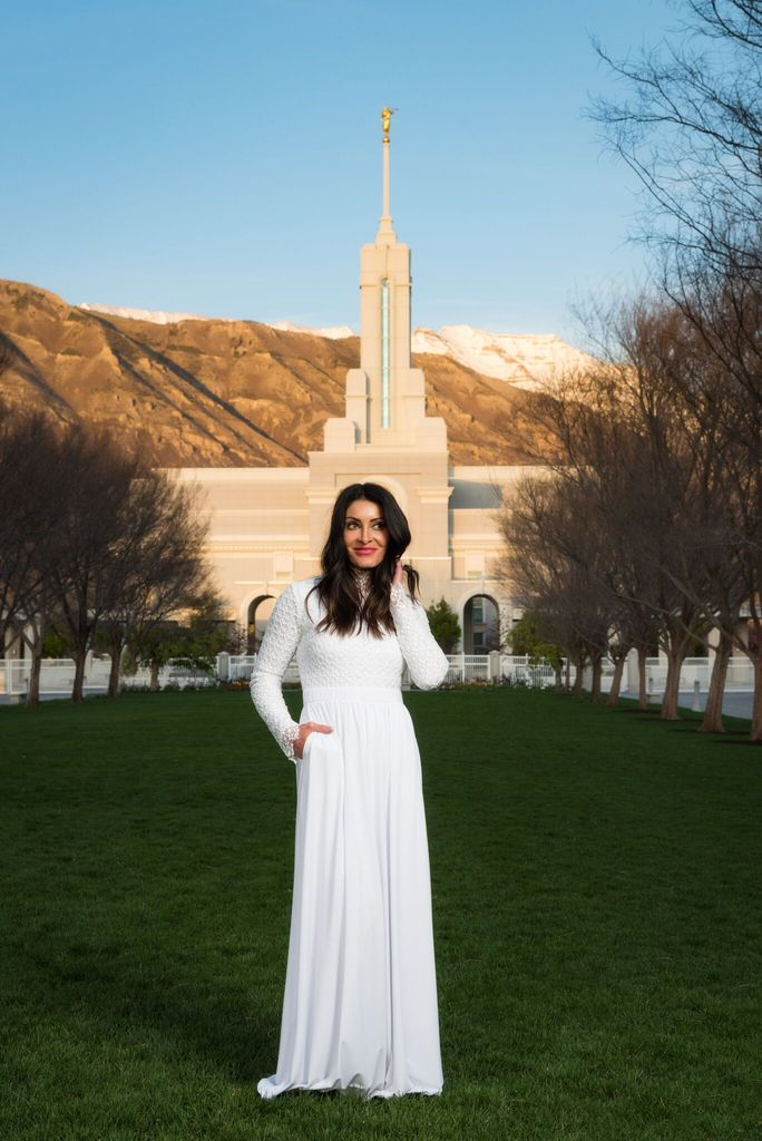 LDS Temple Dresses
