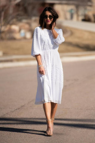 Enchanted Dress in White