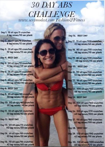 SexyModest 30-Day Abs Challenge