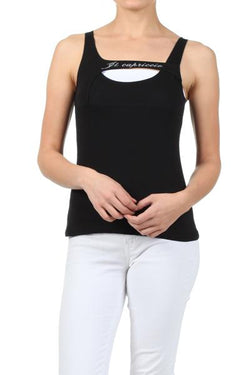 Peekaboo Athletic Top