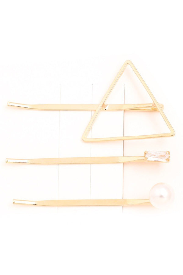 Assorted Gold Bobby Hair Pins - SexyModest Boutique