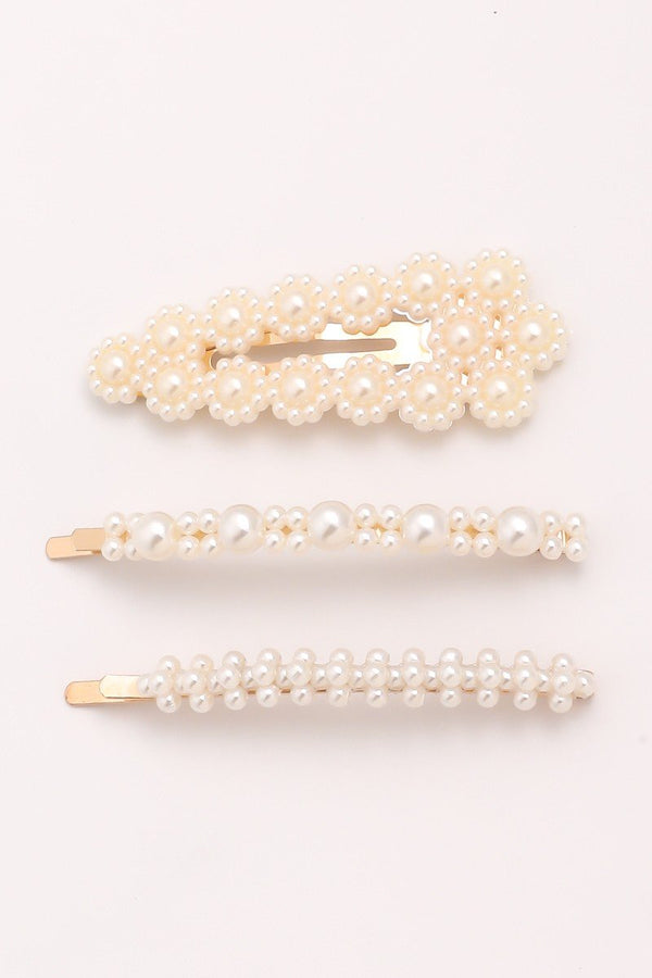 Multi Pearl Hair Pin Set - SexyModest Boutique