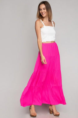 Melissa Maxi Tiered Skirt