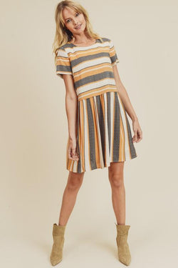 Amayah Stripe Dress
