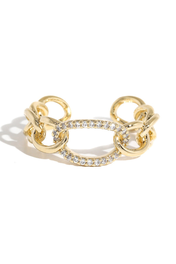 Chain Link Ring - SexyModest Boutique