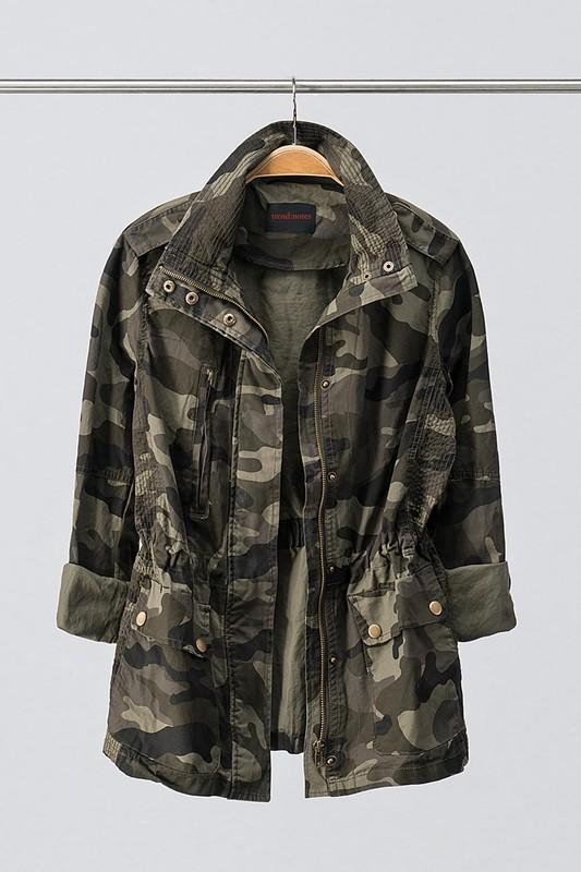 Paige Camo Jacket - SexyModest Boutique