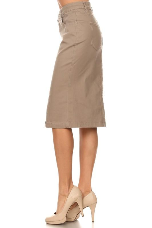Kennedy Skirt - SexyModest Boutique