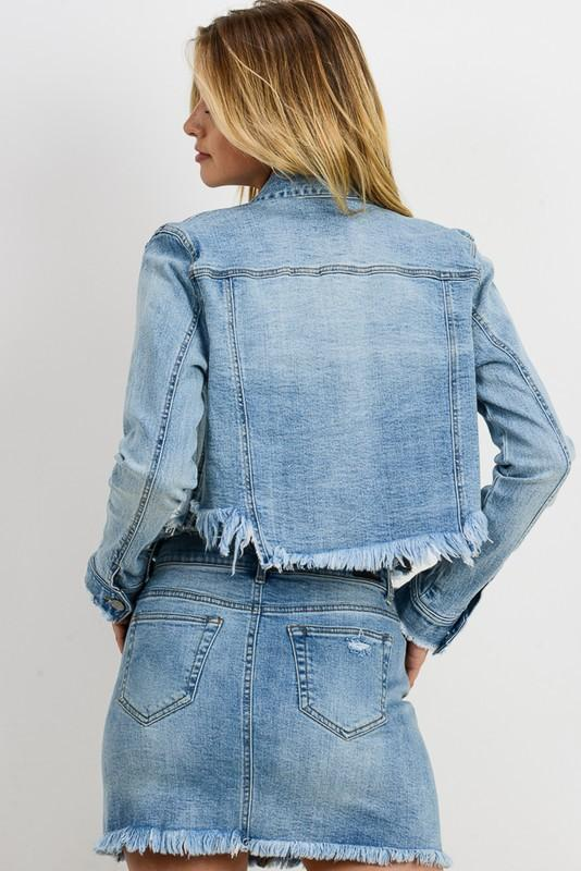 Shanna Fitted Denim Jacket