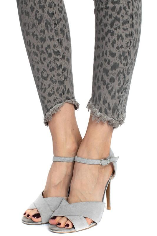 Laney Leopard Jeans - SexyModest Boutique