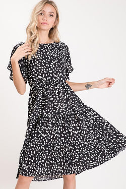 Eva Leopard Dress - SexyModest Boutique