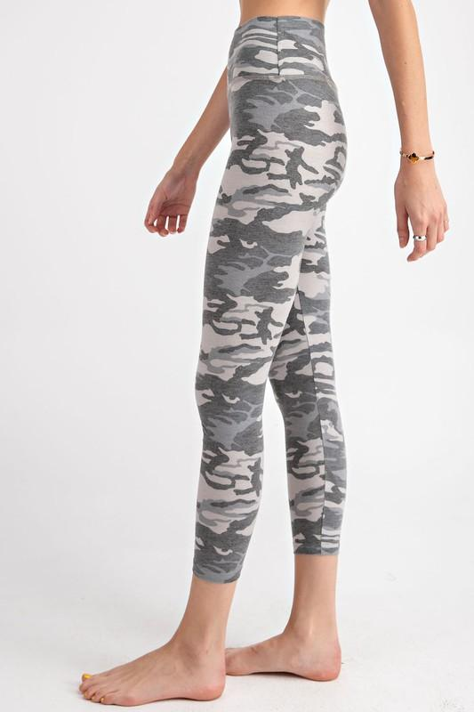 Avery Camo Leggings - SexyModest Boutique
