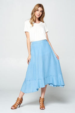 Lily Midi Skirt - SexyModest Boutique