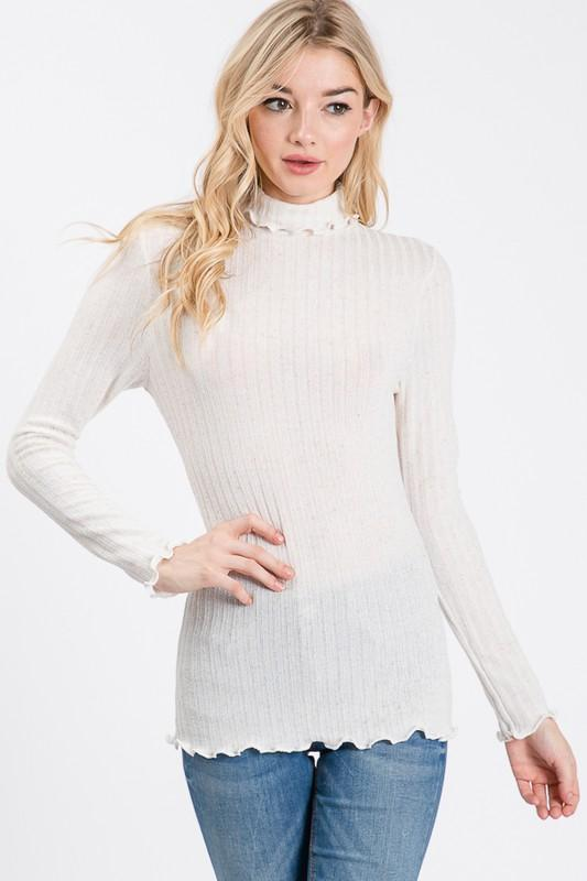Aspen Turtleneck Top - SexyModest Boutique